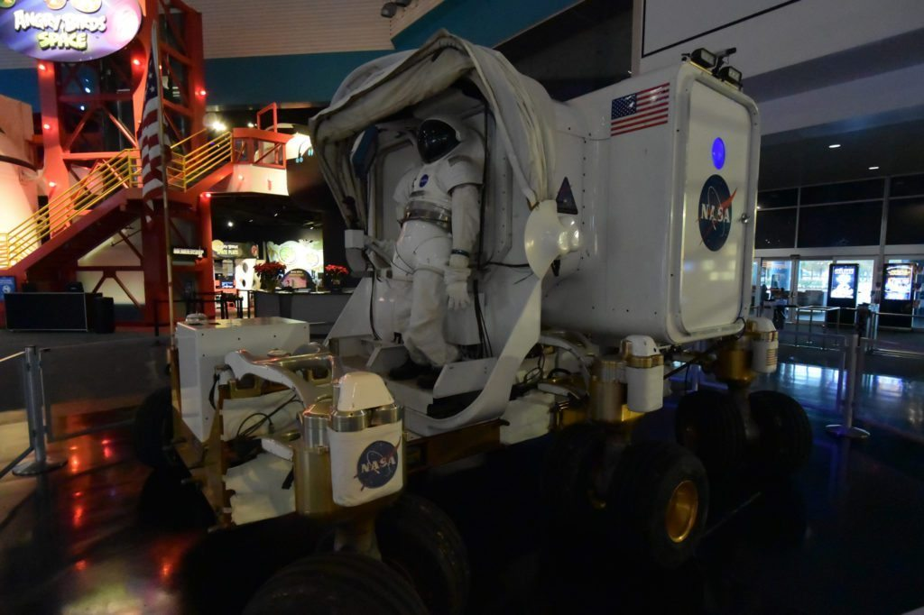 The Space Exploration Vehicle, Space Center Houston