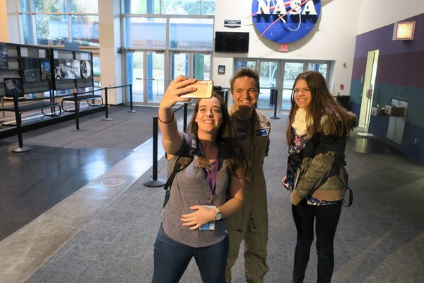 Face time with a NASA astronaut