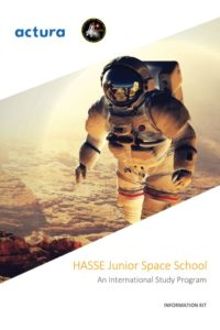 Information Kit, Junior: About the organisation and space school, locations, leading institutions, program itinerary, safety and support, code of conduct, and FAQ.