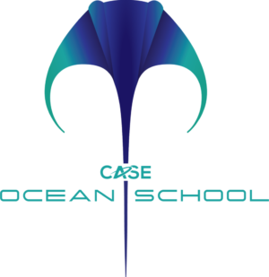 Ocean School logo Colour Green Text b